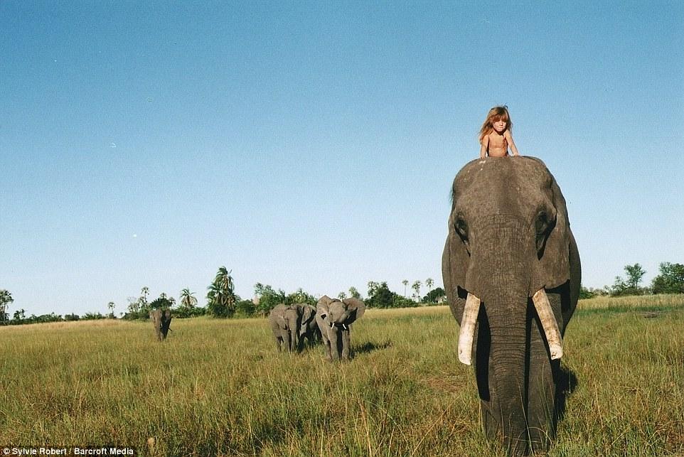 Tippi Degre Real-life Mowgli Afrika