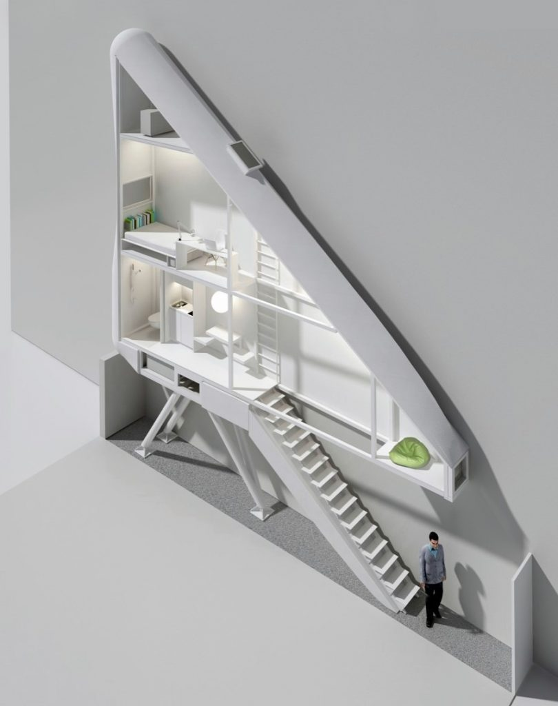Smalste huis ter wereld