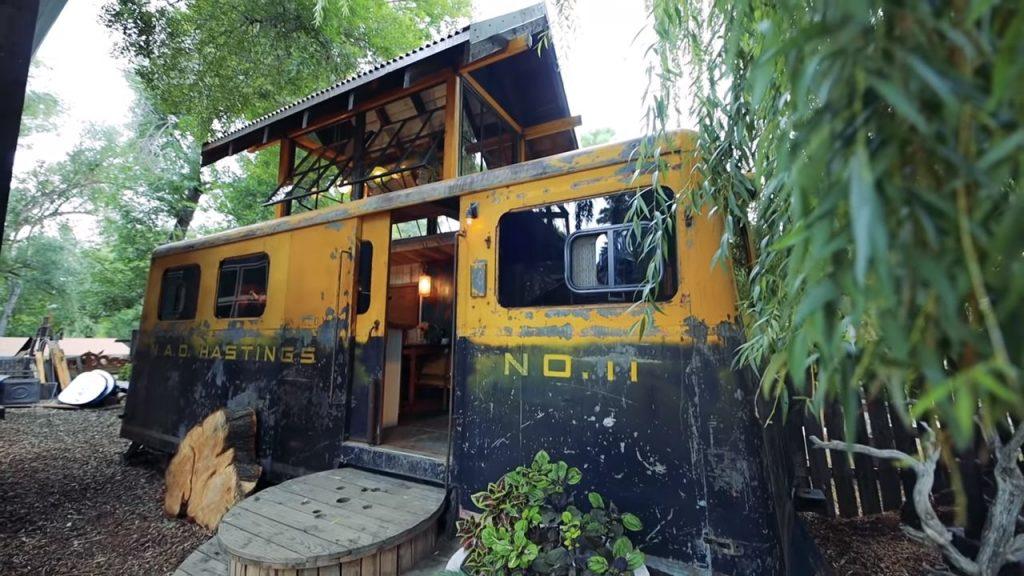 treinwagon tiny house